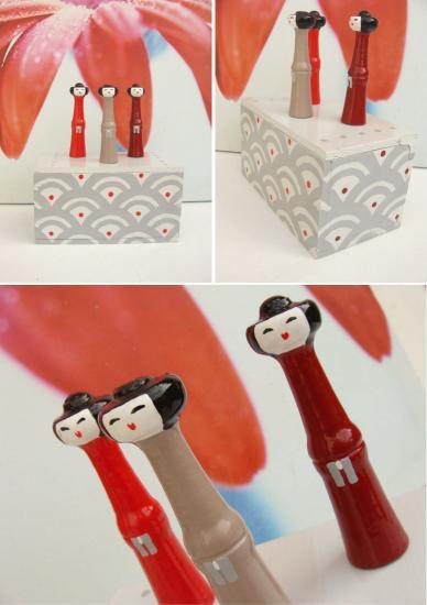 3 geishas x 3