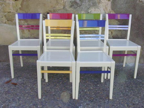 Des chaises 1 - Relooker chaise en bois ...