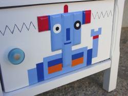 Blue robot 5