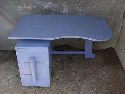 Bureau bleu 5