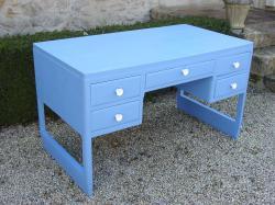 Bureau bleu 7