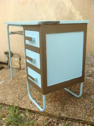 Bureau bleu 8