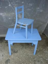 Buro chaise bleus 2