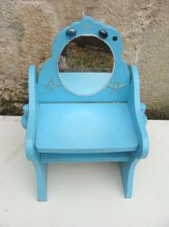 Chaise bleue 1