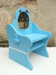 Chaise bleue 2