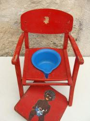 Chaise rouge 3