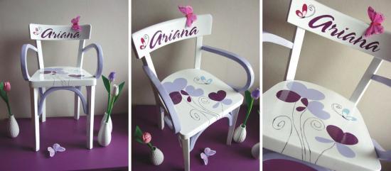 Chaise x 3