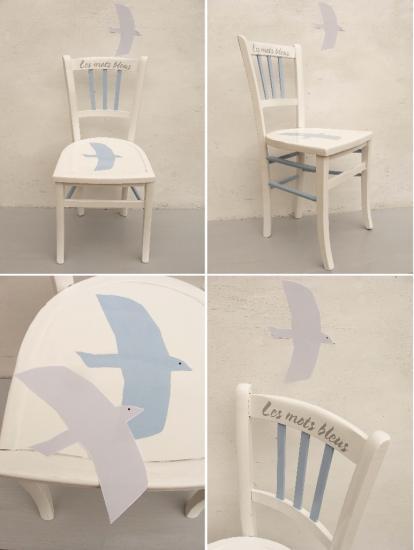 Chaise x 4