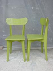 Chaises vertes 2