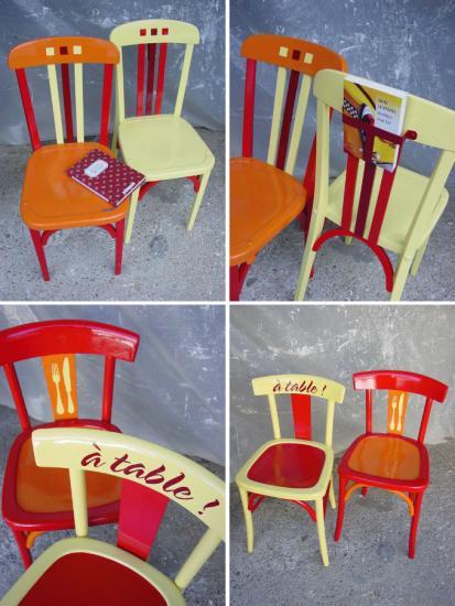 Chaises x 4