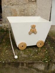 Chariot jouets 1