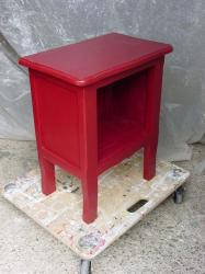 Chevet rouge 1