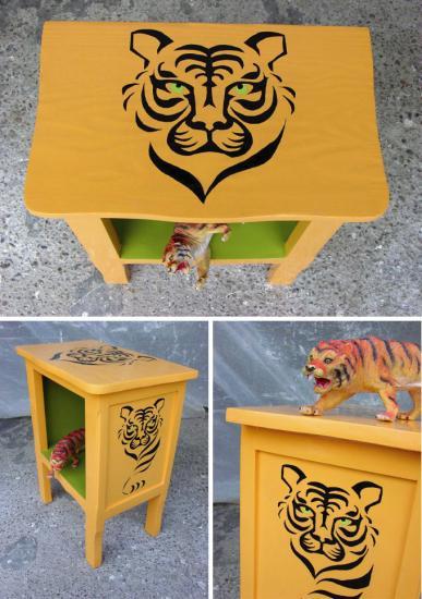 Chevet tigre x 3