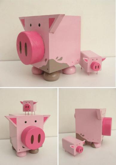 Cochon x 3