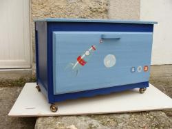 Coffre bleu 6
