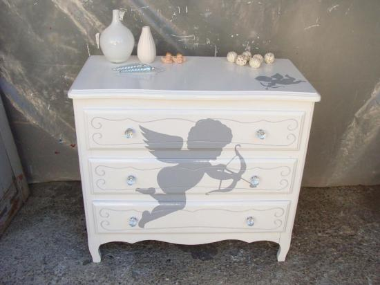 Commode angelots 1