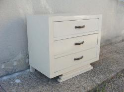 Commode blanche 4