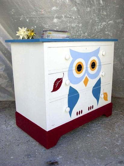 Commode hibou 5