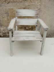 Fauteuil blanc 1