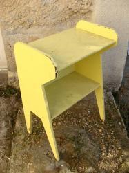 Meuble jaune 2