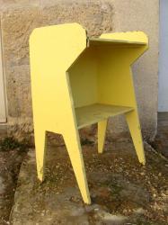 Meuble jaune 3