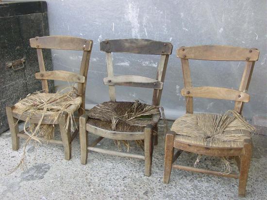 Les pr ts peindre 9 - Peindre des chaises en bois ...