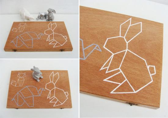 Origami x 3