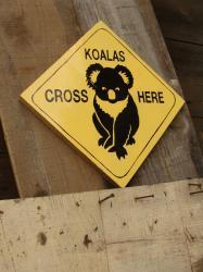 Panneau koala 2
