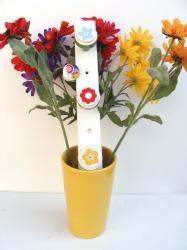 Patere fleurs 9