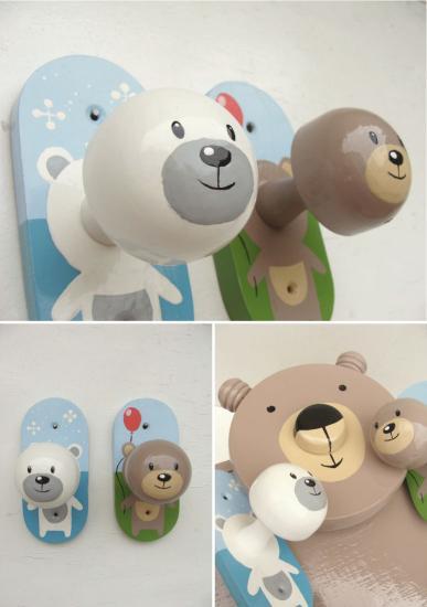 Teddy x 3