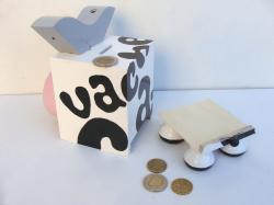 Tirelire vache 9