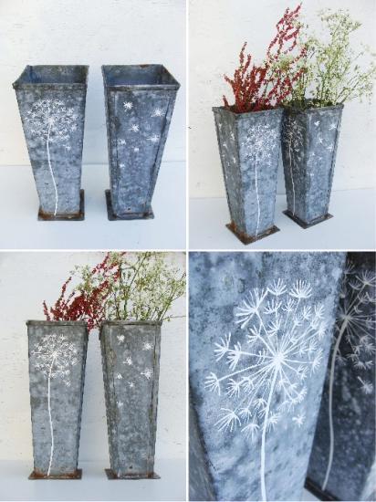 Vases x 4